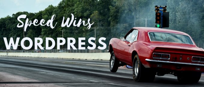 Wordpress Speed Improvements